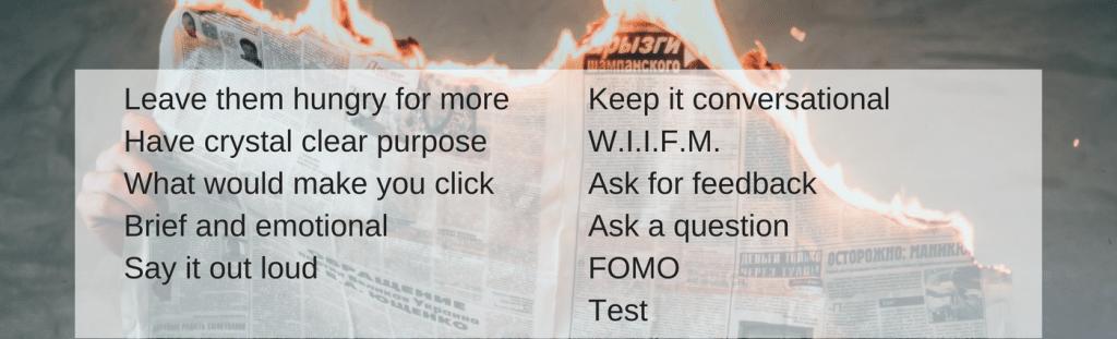 13 tips great blog post headline