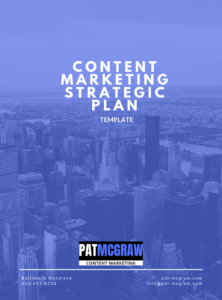 Content Marketing Strategic Plan Template
