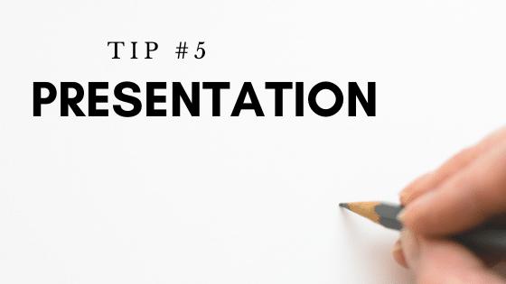 Tip #5 Presentation